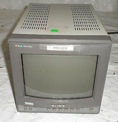 """Sony PVM-8220 8"""" Color Video Monitor"""