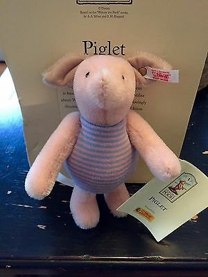 Classic Pooh Collection Piglet Steiff BRAND NEW & VERY RARE