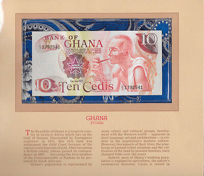 Most Treasured Banknotes Ghana 1978 10 Cedis P16f GEM UNC Prefix C/2