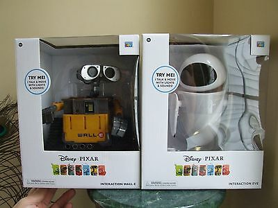 Disney Pixar Interaction Wall-E & Eve Set from Thinkway Toys