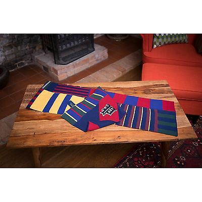 """Ralph Lauren Ultra Rare Varsity Scarf Embroidered """"P"""" Scarf RRP £145"""