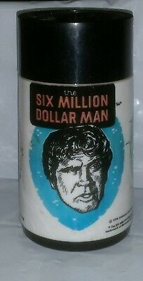 Aladdin Vintage 1978 Six Million Dollar Man Thermo only.