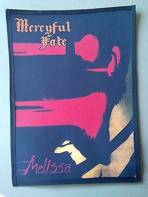 Mercyful Fate,melissa Sublimated Large Back Patch