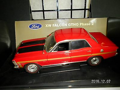 Biante Falcon Xw Gtho Phase 2 Red 1:18 Model Ford Bathurst
