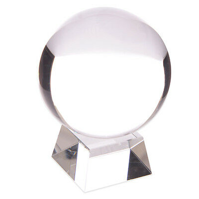 Crystal Ball with Free Crystal Stand for Feng Shui Decoration - NEW