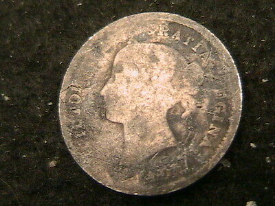 1872H 1872 H Canada 5 Five Cents!! Km# 2 Very Nice Silver Coin! Free Shipping!