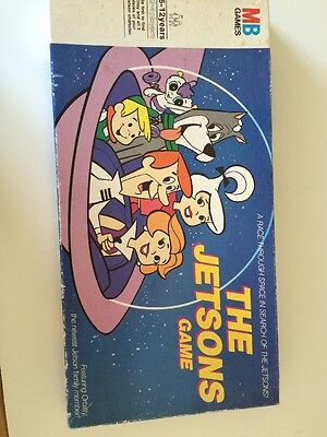 The Jetsons Board Game - Vintage 1985