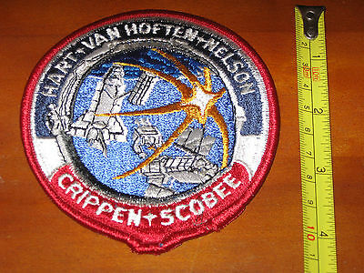 NASA STS-41-C Challenger Space Shuttle Mission Patch