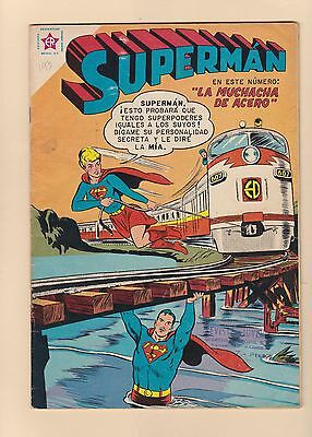 Superman 23 - Mexican 1959 Novaro Edition - Supergirl Tryout