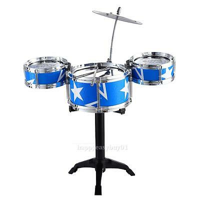 Jazz Drum Set for Kid Child Early Education Toy Percussion Instrument Great Gift