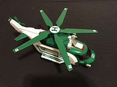 2012 Hess Toy Helicopter Rescue Only Xmas Toy EUC!!