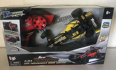 Brand New 1:24 Scale Die cast RC Jet Panther Radio Remote Control Racing Car