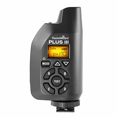 PocketWizard Plus III Pocket Wizard Transceiver Black