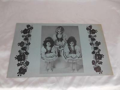 Old Vtg THREE SISTERS STEAK HOUSE Restaurant MENU Luncheons from 85 cents