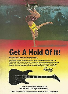 1983 Ovation Nancy Wilson Collectors' Series Guitar print ad