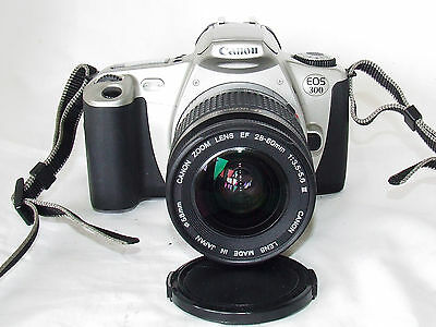 Canon EOS 300 35mm Film Camera with 28-80mm Lens