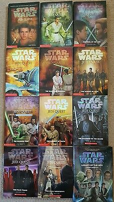 Complete Star Wars Jedi Quest Series - All 12 books