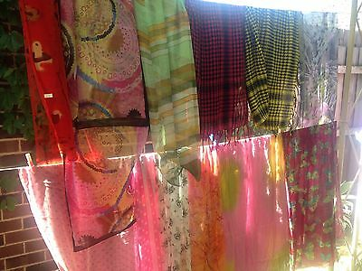 Wholesale Bulk Lot 30 Assorted Scarves Brand New Great X'mas Gift