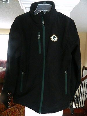 Authentic NFL / Packer zip - up Jacket  - New With Tags