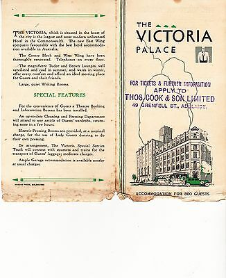 Victoria Palace Hotel, Melbourne, 1932.  2 items.