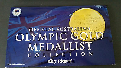 Syd 2000 Olympic gold medallist pins 100% complete collectable! Excellent cond