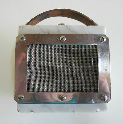 Extremely Rare AWA Reiss Carbon Granule Microphone - Made in Australia - 1925