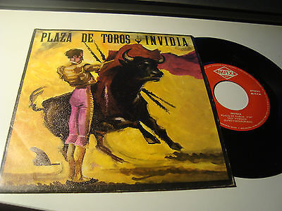 "Rar Single 7"". Invidia. Plaza De Toros. Italo Disco. Made In Spain"