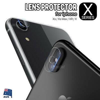 9D Apple iPhone X XS Max XR Hardness Camera Lens Tempered Glass Screen Protector