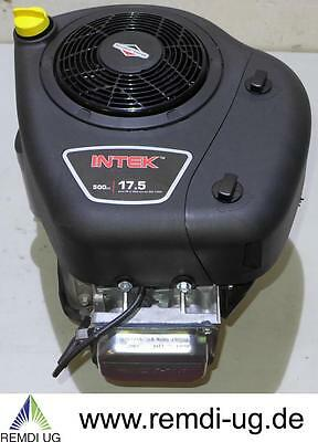 Briggs & Stratton Rasentraktor Motor INTEK 17,5 HP E-Start Welle 25,4/80