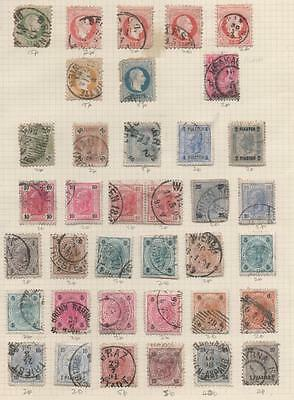 Austria Old Stamps.6 Pages of Stamps.