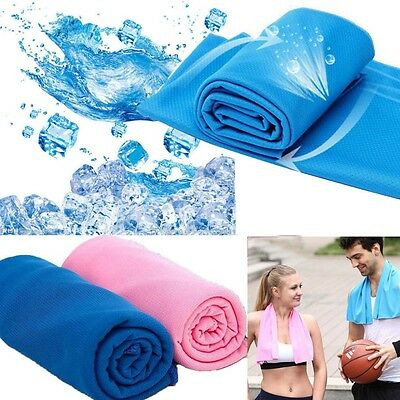 Sports Running Cycling Jogging Gym YogaChilly Pad Instant Cool Ice Cooling Towel