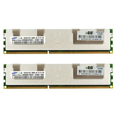 12GB 3x4GB HP Branded DDR3 Reg ram for Z600 Z800
