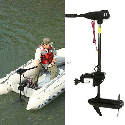 Electric Outboard Motor Engine 46lb Thrust Boat 12v 3.5HP Max