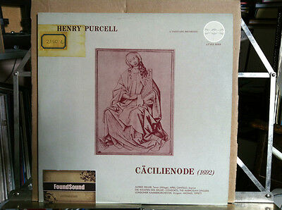 Purcell - Caccilienode (Vanguard Amadeo) LP