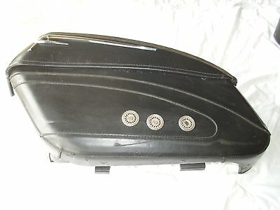 Harley Road King Leather Saddle Bags