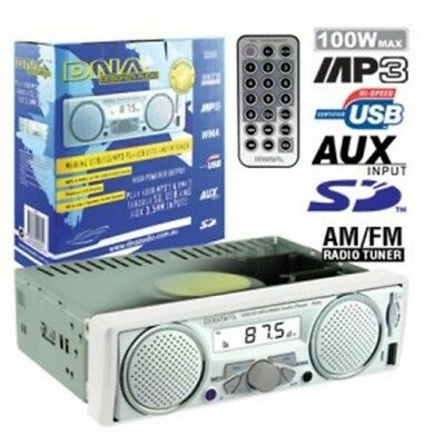 Marine AM/FM MP3 Player With Speakers  (MA6)