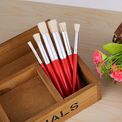 6Pcs Nail Art Brush Gradient Drawing Gel Shading Painting Pen Manicure Tools Set