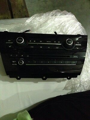 Bmw X5 E70 E71 Heater Control Unit Climate Air Conditioning Switch With Panel