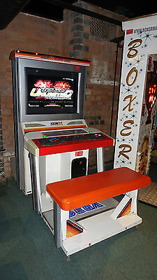TEKKEN TAG 2 TOURNAMENT 32in LCD SIT DOWN LARGE ARCADE GAME MACHINE