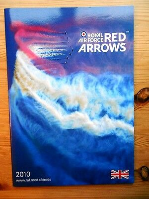 XMAS GIFT - RAF RED ARROWS 2010 YEARBOOK - 33 page glossy brochure magazine