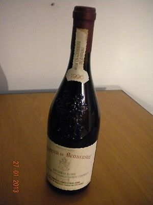 Chateau de Beaucastel Cdp PFV RED 1996