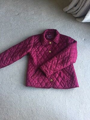 Girls Quilted Jacket Age 11-12