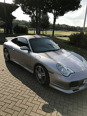 2002 Porsche 911 Carrera 4S Silver Wide Body Aero 3.6 6 Speed