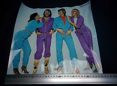 ABBA JAPAN Poster DISCOMATE OFFICIAL 35,3x35,3CM