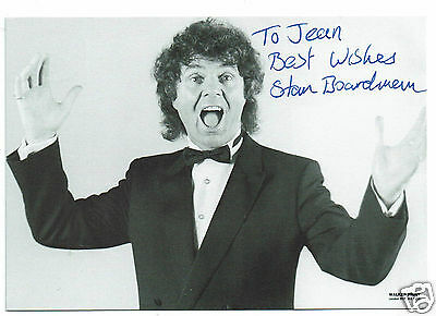 Stan Boardman  British Comedian and Entertainer Hand Signed Photograph 6 x 4