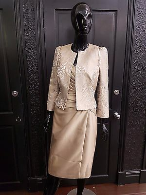 Ispirato Mother of the Bride dress and jacket. Size 8.