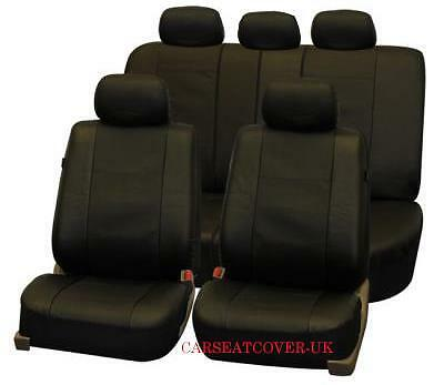 BMW 5 Series - Luxury LEATHERETTE Car Seat Covers Protectors - Full Set