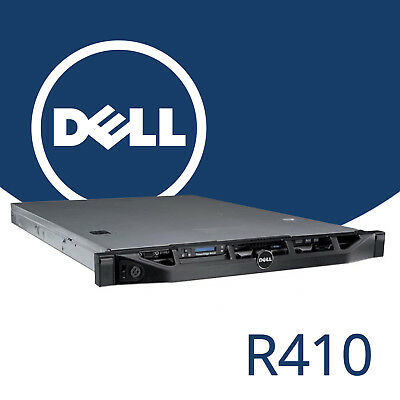 Dell PowerEdge R410 2x Xeon Quad Core E5620 24GB RAM H200 Rackable 1U 4x 146GB