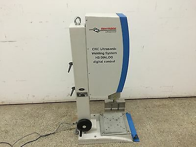 Herrmann Ultrasonics HS Dialog Digital Control Ultrasonic Welding Machine 5000W