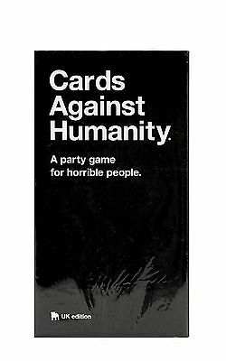 Cards Against Humanity: UK edition - Party Game BRAND NEW UK Seller Xmas FUN